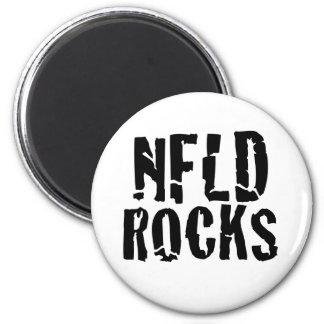 Nfld Rocks Refrigerator Magnet