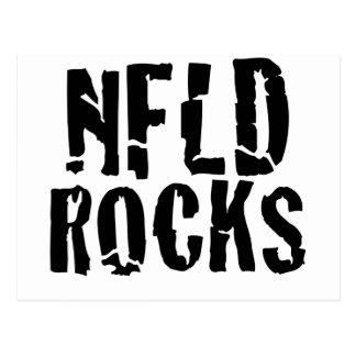 Nfld Rocks Postcard