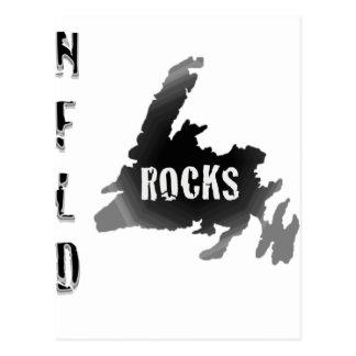 Nfld Rocks Post Cards