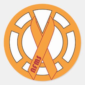 NFMS - Orange Lantern Sticker