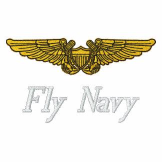 NFO se va volando W/F-14 y a la marina de guerra d Camiseta Polo