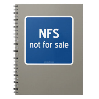 NFS not for sale Notebook