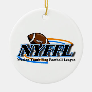 Nfusion Youth Flag Football Nyffl Under 14 Ceramic Ornament