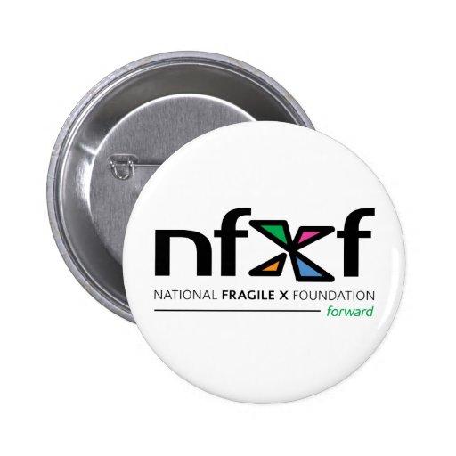 NFXF adelante Pin Redondo De 2 Pulgadas