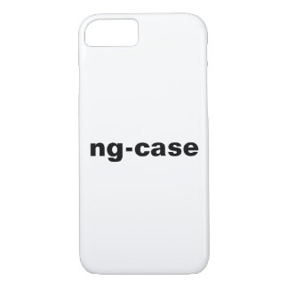 ng-case - AngularJs Programmer iPhone 7 Case