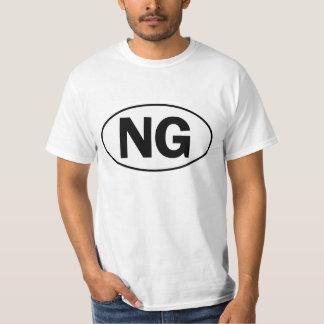 NG Oval Identity Sign Tee Shirts