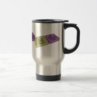 Nga as Nitrogen N  and Gallium Ga 15 Oz Stainless Steel Travel Mug