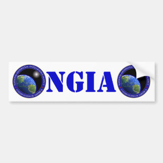 NGA BUMPER STICKER