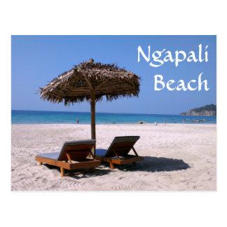 Ngapali Beach, Myanmar Postcard