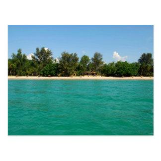 Ngapali Beach Postcard