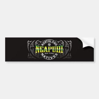 Ngapuhi Lifer Chrome Car Bumper Sticker