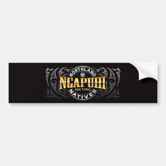 Ngapuhi Lifer Moko Bumper Sticker