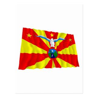 Ngardmau Waving Flag Postcard