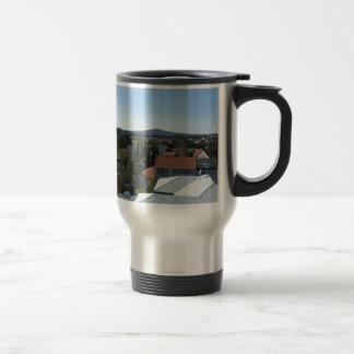 Ngataringa Bay And Rangitoto Island 15 Oz Stainless Steel Travel Mug