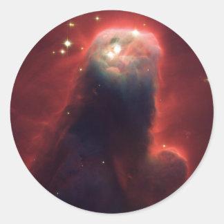 NGC2264 Cone Nebula Round Sticker