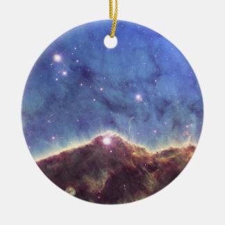 NGC3324 Keyhole Nebula in Carina Ceramic Ornament