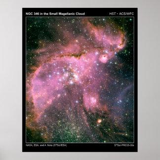 NGC346InTheSmallMagellanicCloud-20 Poster