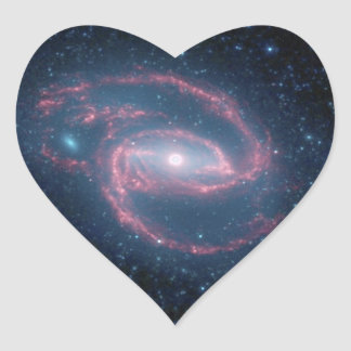 NGC 1097 Coiled Galaxy of the Night Heart Sticker