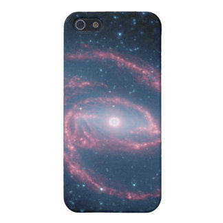 NGC 1097 Coiled Galaxy of the Night iPhone SE/5/5s Case