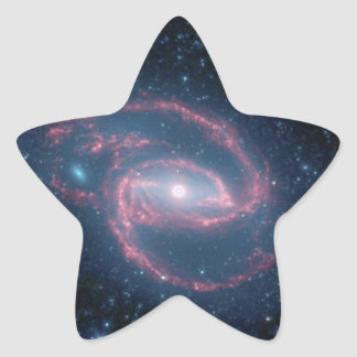 NGC 1097 Coiled Galaxy of the Night Star Sticker