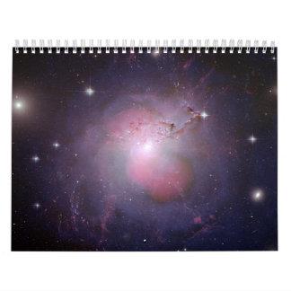 NGC 1275 (compuesto de la Multi-longitud de onda d Calendario De Pared