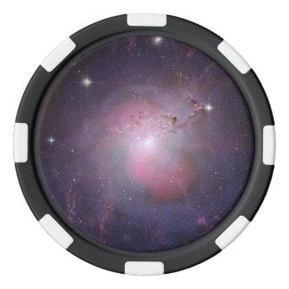 NGC 1275 (compuesto de la Multi-longitud de onda Juego De Fichas De Póquer