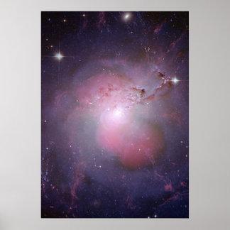 NGC 1275 (Perseus A) Multi-wavelength Composite Poster