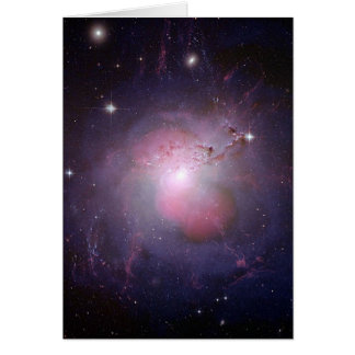 NGC 1275 Perseus cD galaxy Greeting Card