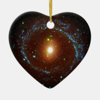 NGC 1291 Galaxy Evolution Explorer Ceramic Ornament