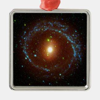 NGC 1291 Galaxy Evolution Explorer Metal Ornament
