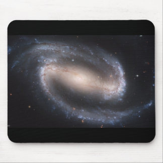 NGC-1300 Barred Spiral Galaxy Mouse Pad