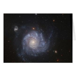 NGC 1309 Spiral Galaxy, Psalm 19:1 Card