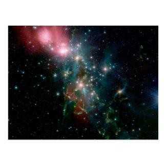 NGC 1333, A Reflection Nebula Postcard