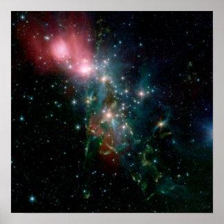 NGC 1333, A Reflection Nebula Poster