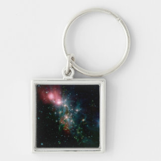 NGC 1333 Chaotic birth of stars Keychain