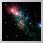 NGC 1333, una nebulosa de reflexión Posters