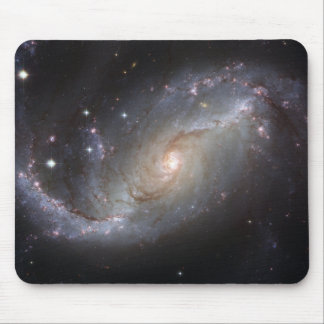 NGC 1672 Barred Spiral Galaxy Mouse Pad