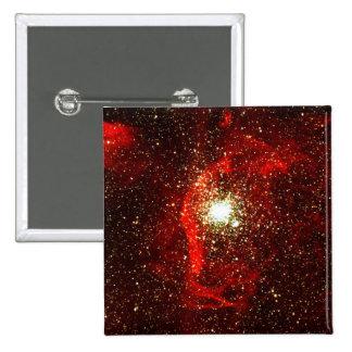 NGC 1850 Nubes y cúmulos de estrellas del gas Pin