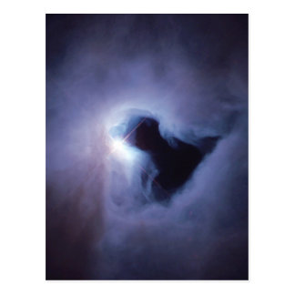 NGC 1999 black hole NASA Postcard