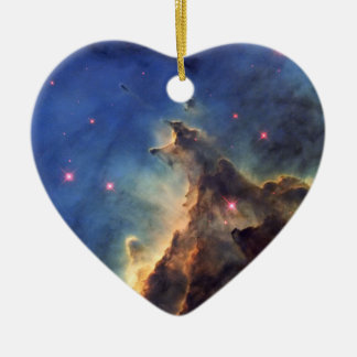 NGC 2174 - Only 6400 Light Years From Earth Ceramic Ornament