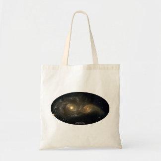 NGC-2207 and IC-2163 Grazing Galaxies Tote Bags