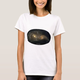 NGC-2207 and IC-2163 Grazing Galaxies T-Shirt