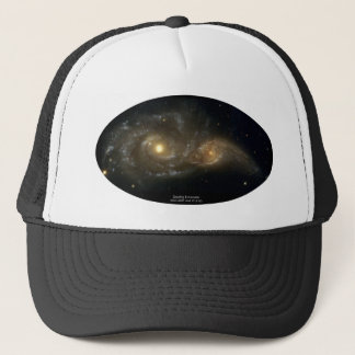 NGC-2207 and IC-2163 Grazing Galaxies Trucker Hat