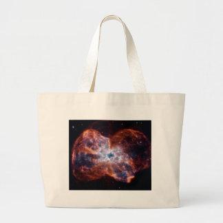 NGC 2440 Last Hurrah star NASA Large Tote Bag