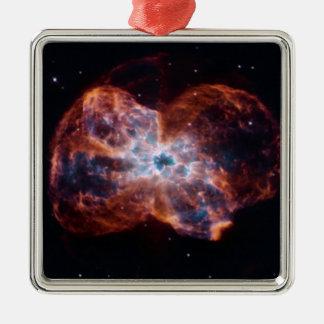 NGC 2440 Last Hurrah star NASA Metal Ornament