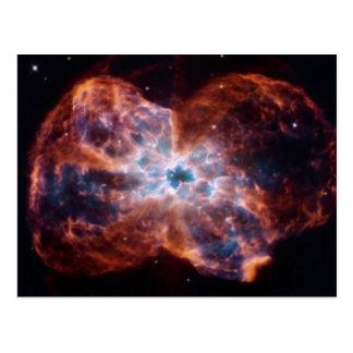 NGC 2440 Last Hurrah star NASA Postcard