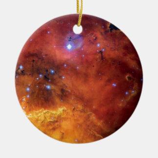 NGC 2467 Nebula - Hubble Space Telescope Photo Ceramic Ornament