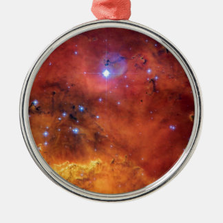 NGC 2467 Nebula - Hubble Space Telescope Photo Metal Ornament