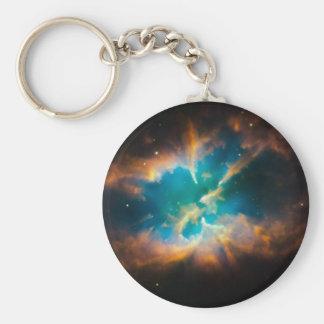 NGC 2818 Planetary nebula glowing Keychain