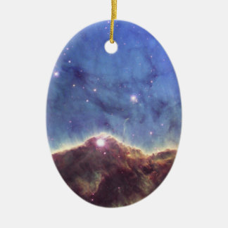 NGC 3324 Keyhole nebula in Carina Ceramic Ornament